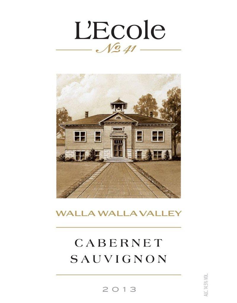 Wine Cabernet Sauvignon, L'Ecole No 41, Walla Walla Valley, WA, 2013