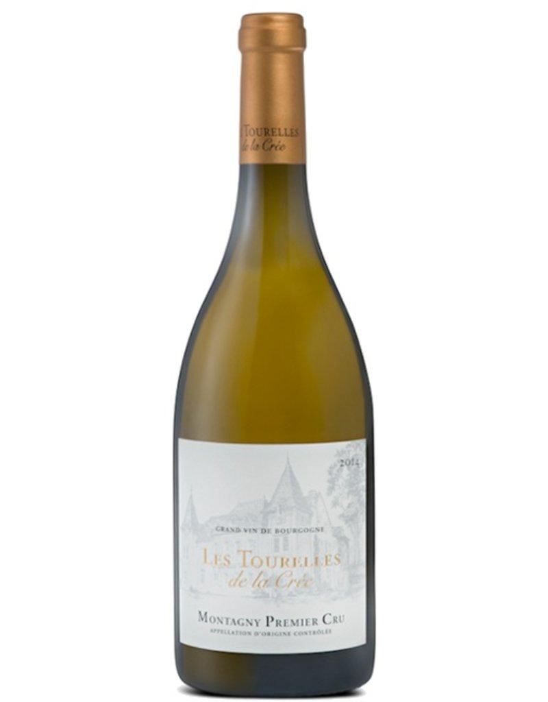 """Wine Montagny 1er Cru """"Les Tourelles"""", Chateau de la Cree, FR, 2014"""