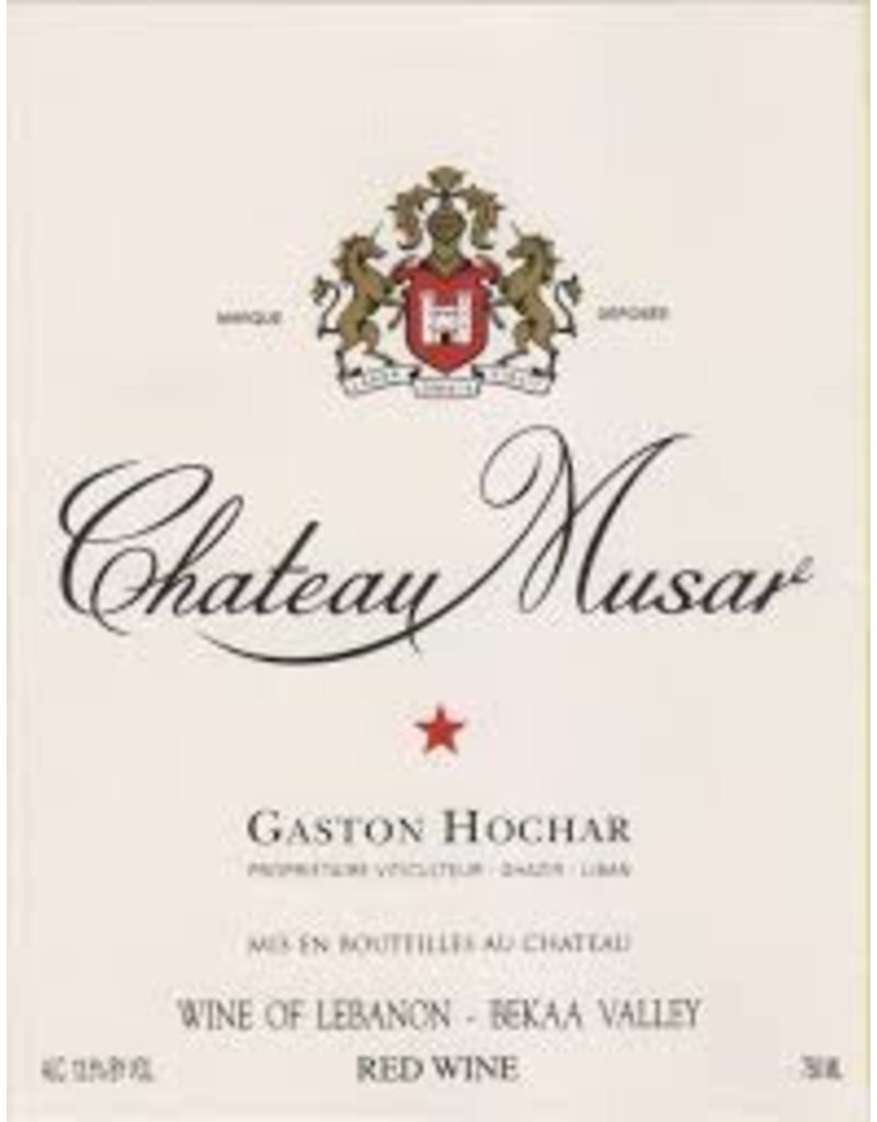 Wine Chateau Musar, Bekaa Valley, LB, 2008
