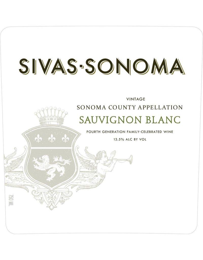 Wine Sauvignon Blanc, Sivas - Sonoma, Sonoma County, CA, 2014