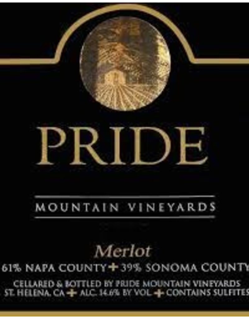 Merlot, Pride Mountain Vineyards, CA, 2015