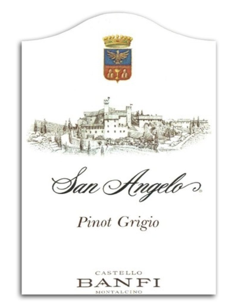 "Wine Pinot Grigio ""San Angelo"", Banfi Vintners, IT 2015"