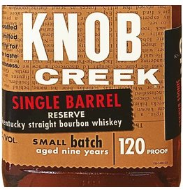 "Liquor Bourbon ""Single Barrel Reserve"", Knob Creek, 750ml"