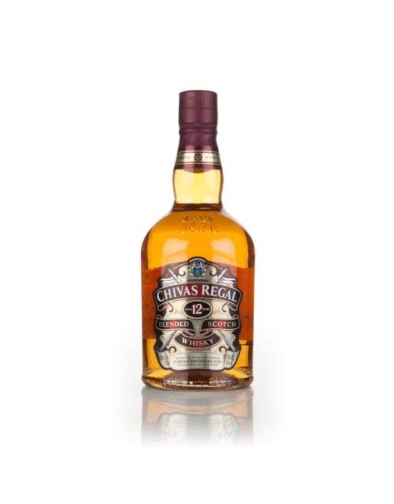 Liquor Scotch, Chivas Regal 12 Yr, 1L