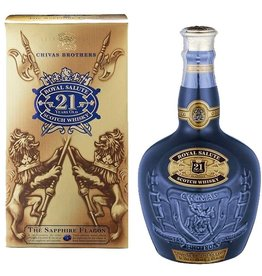 "Liquor Scotch, Chivas Regal ""Royal Salute"" 21 Yr 750ml"