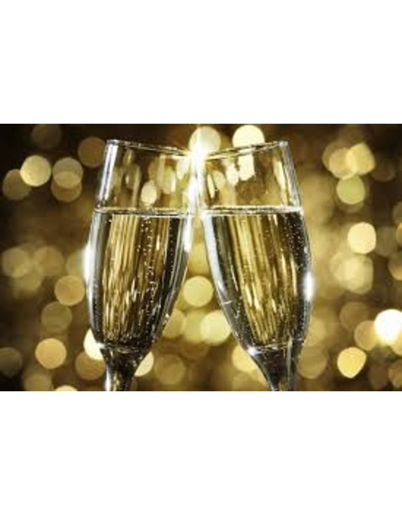 Classes/Open House Sparkling/Champagne Tasting, December 13, 2017; 6pm - 8pm,  1 Person (Includes $25.00 Voucher)