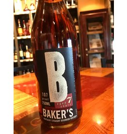 "Liquor Bourbon, Baker's ""107 Proof""  7 Yr, 750ml"