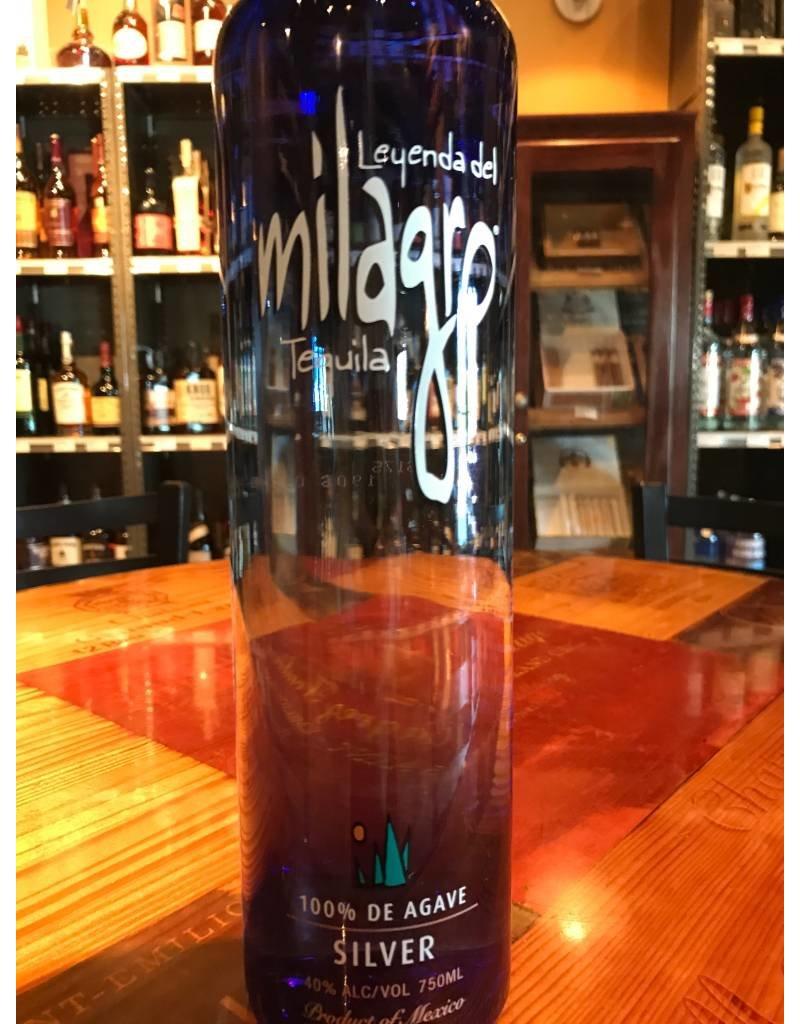 "Liquor Tequila, Milagro ""Silver"", 750ml"