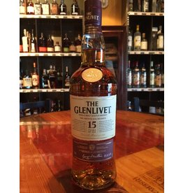 Liquor Scotch, Glenlivet 15 yr