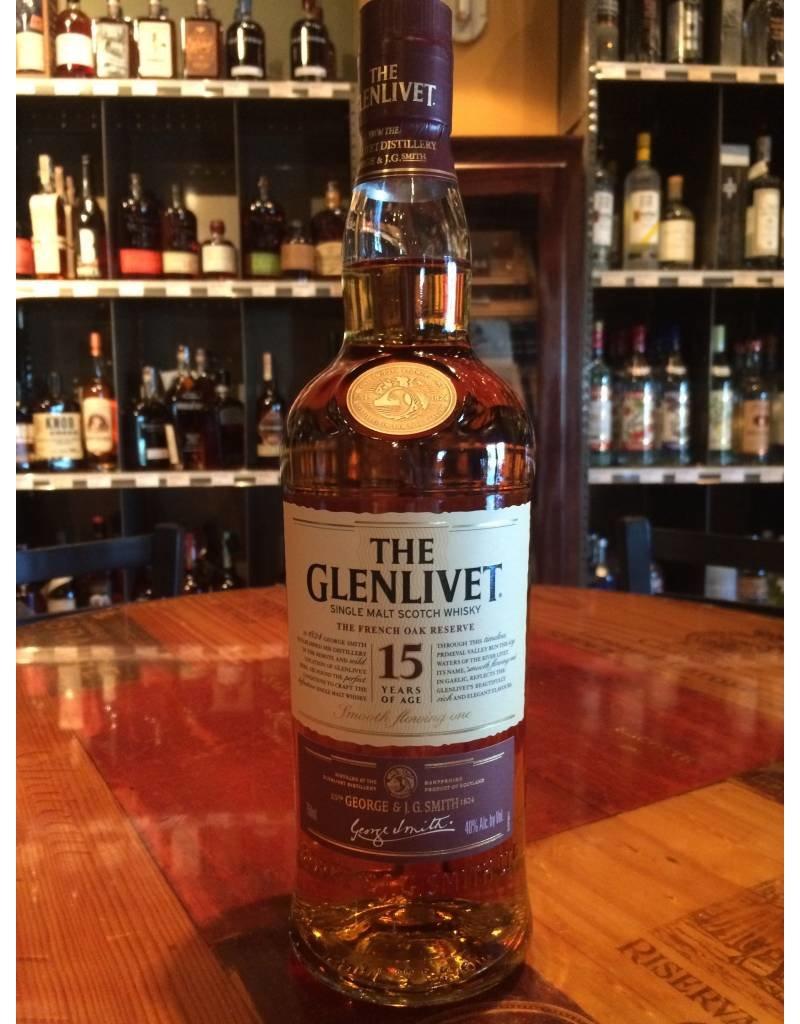 Liquor Scotch, Glenlivet 15 yr