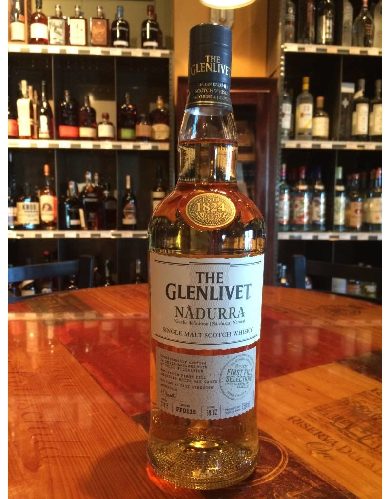 "Liquor Scotch, Glenlivet ""Nadurra"", 750ml"