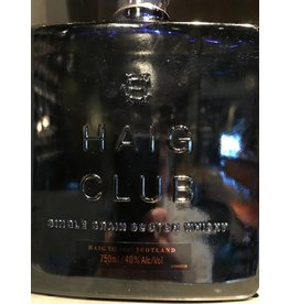 "Liquor Scotch. Haig Club ""Single Grain"", 750ml"