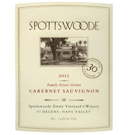 Wine Cabernet Sauvignon, Spottswoode, Napa, CA, 2014