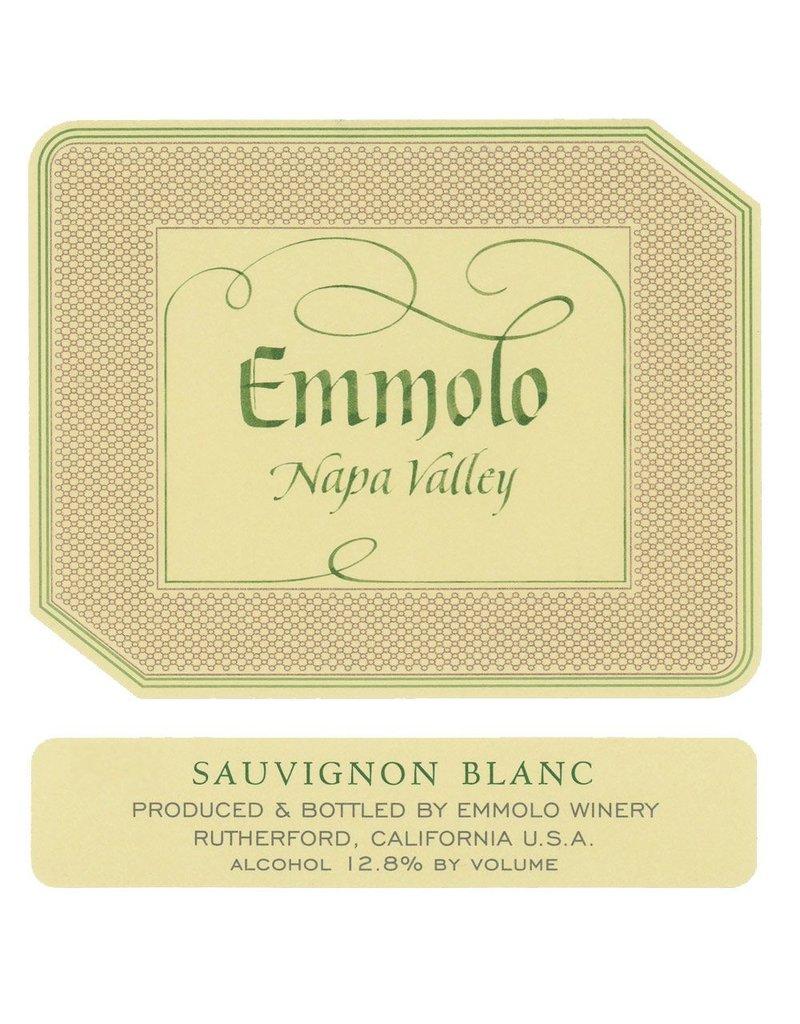 Wine Sauvignon Blanc, Emmolo Winery, Napa Valley, CA, 2015