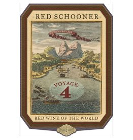 "Wine Malbec ""Red Schooner - Voyage 4"", Wagner Family, Napa Valley, CA, NV"