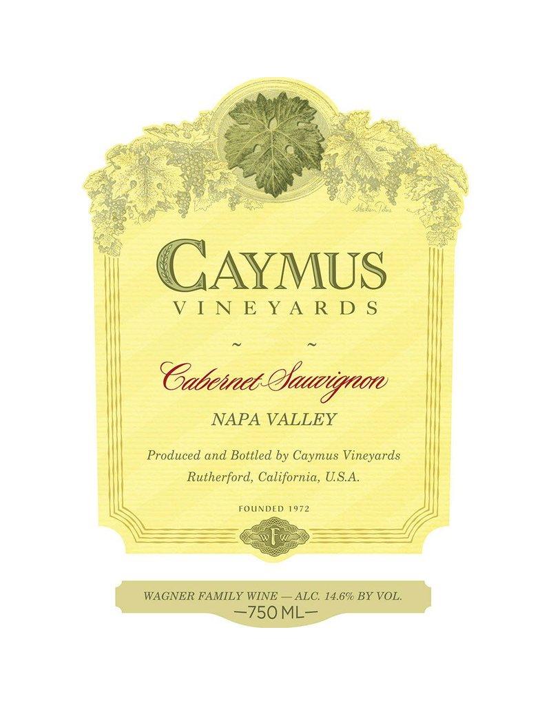 Wine Cabernet Sauvignon, Caymus Vineyards, CA, 2015