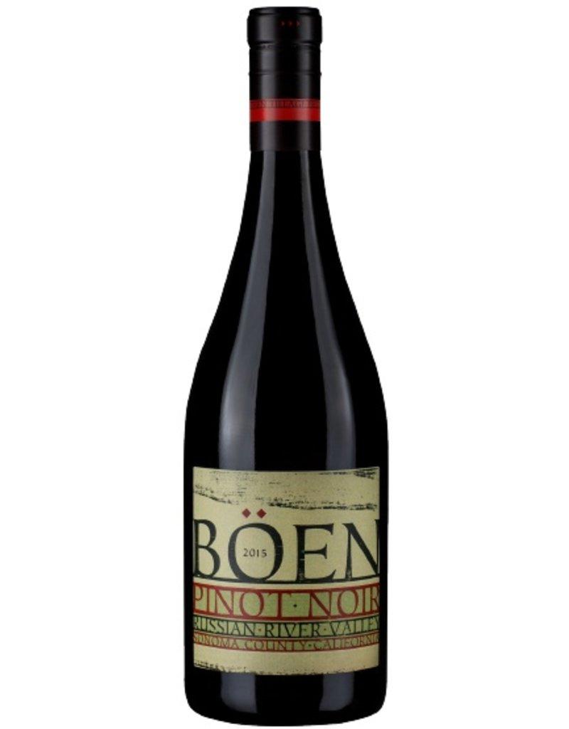 Wine Pinot Noir, Böen, Russian River Valley, CA, 2016