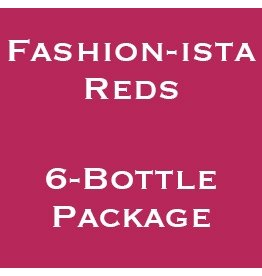 Wine Fashion-ista Reds, Wine Women & Shoes, 2017