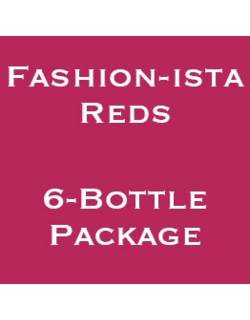 Wine Fashion-ista Reds, Wine Women & Shoes, 2017