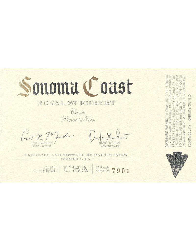 "Wine Pinot Noir ""Royal St. Robert"", Raen, Sonoma Coast, CA, 2015"