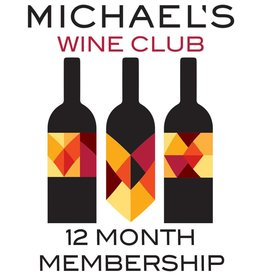 Wine Michael's Wine Club, 3 Boutique Wines, Monthly Delivery (12 Month Purchase)