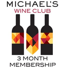 Wine Michael's Wine Club, 3 Boutique Wines, Monthly Delivery (3 Month Purchase)