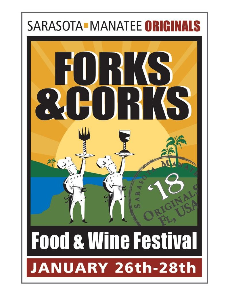 Classes/Open House Wine Tasting, Forks & Corks Open House, 1 Person - January 27, 2018