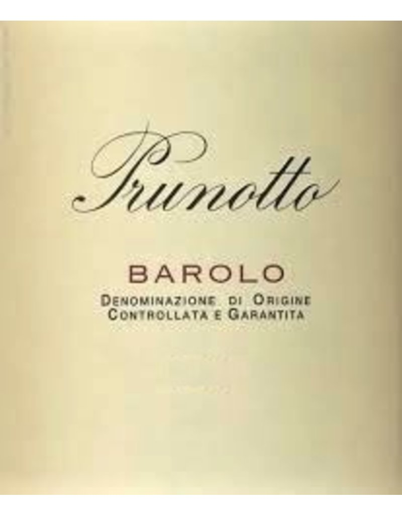 Barolo, Prunotto, Piedmont, IT, 2011