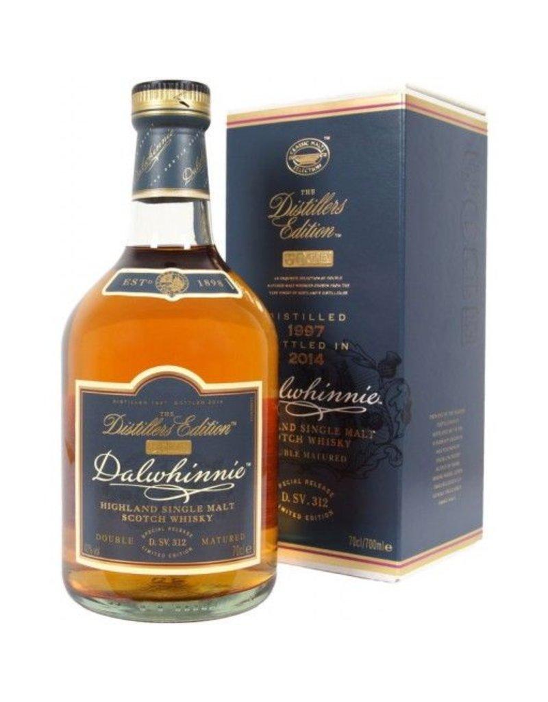 "Liquor Scotch ""Distiller's Edition"", Dalwhinnie, 750ml"