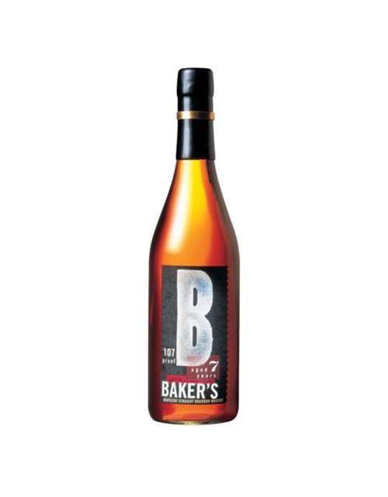 """Liquor Bourbon, Baker's """"107 Proof""""  7 Yr, 750ml"""