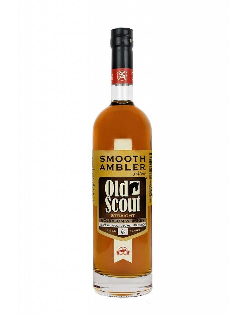 "Liquor Bourbon, Smooth Ambler ""Old Scout"", 750ml"
