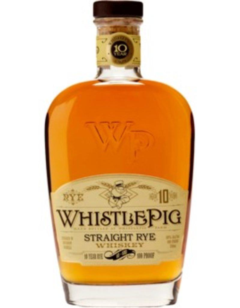 "Whiskey ""10 Year Rye"", WhistlePig, 750ml"