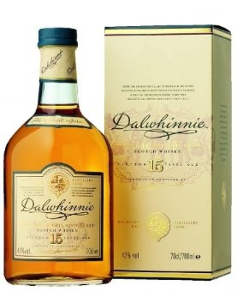 Scotch, Dalwhinnie 15 Yr, 750ml
