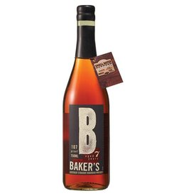 "Bourbon, Baker's ""107 Proof""  7 Yr, 750ml"