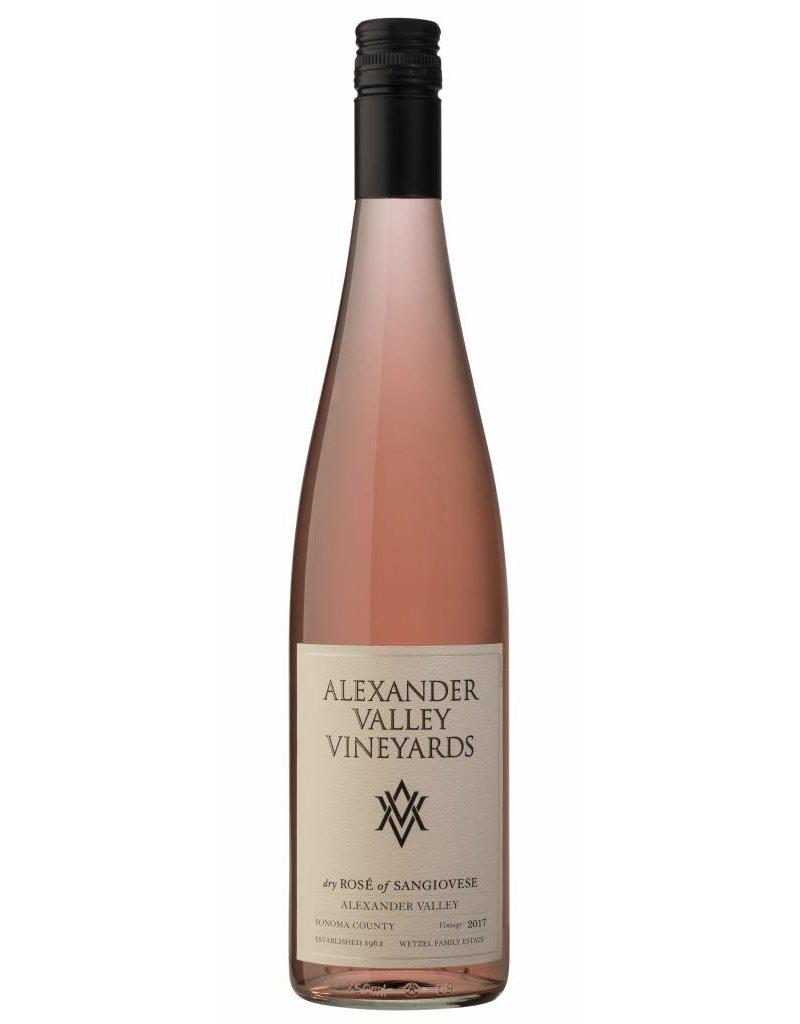 Rosé de Sangiovese, Alexander Valley Vineyards  2017