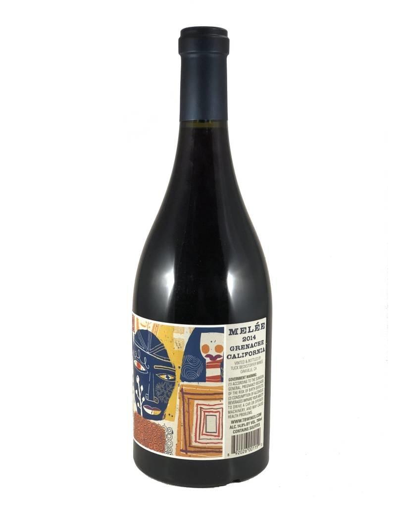 "Grenache ""Melee"", Tuck Beckstoffer Wines, CA, 2014"
