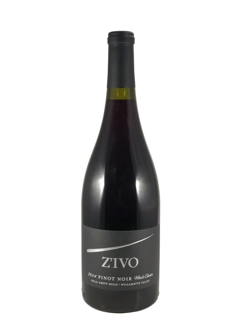 Pinot Noir Z'IVO, Eola-Amity Hills, OR, 2014
