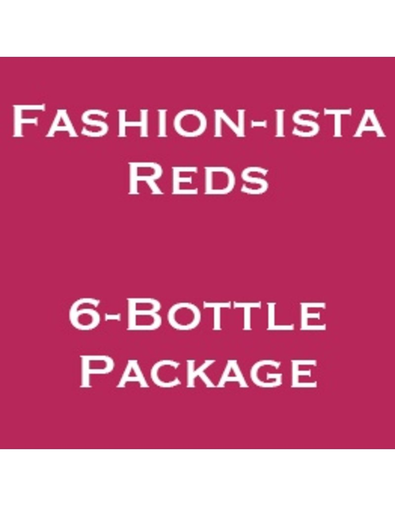 Fashion-ista Reds, Wine Women & Shoes, 2018