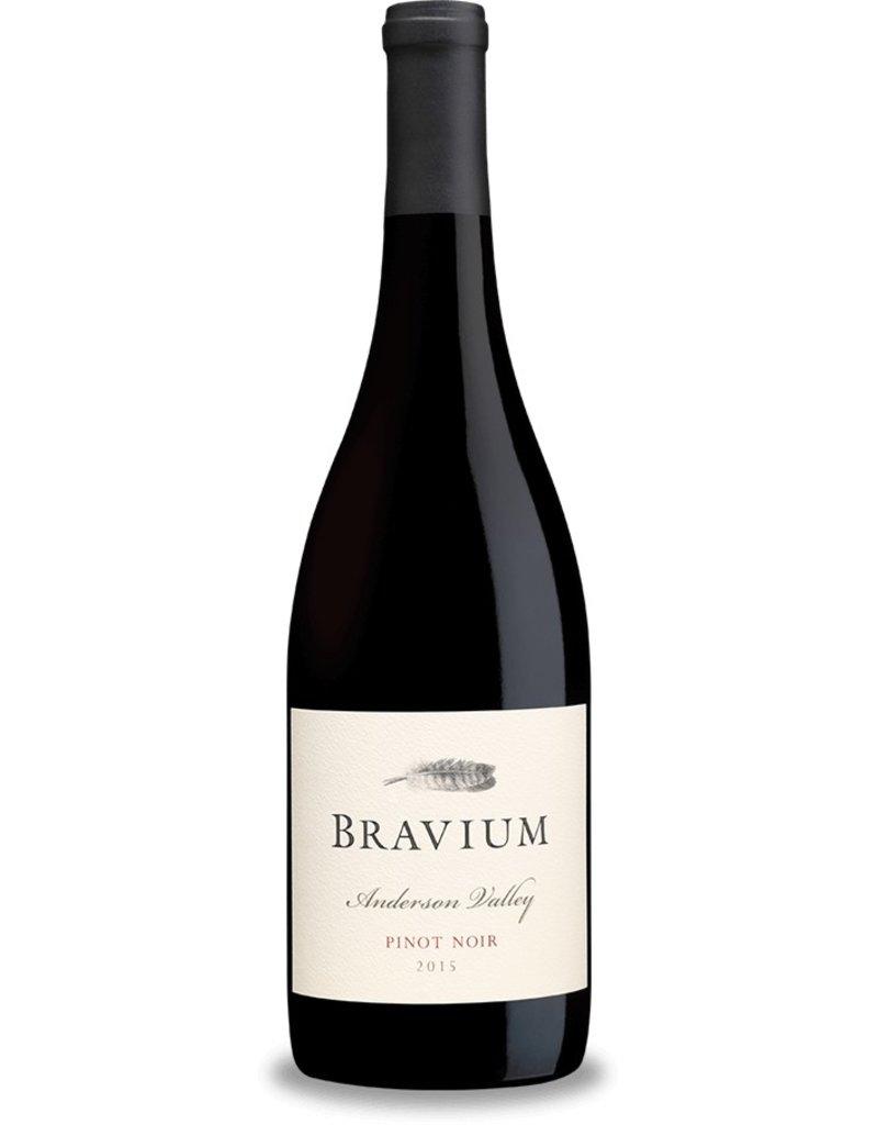 Pinot Noir, Bravium, Anderson Valley, CA, 2015