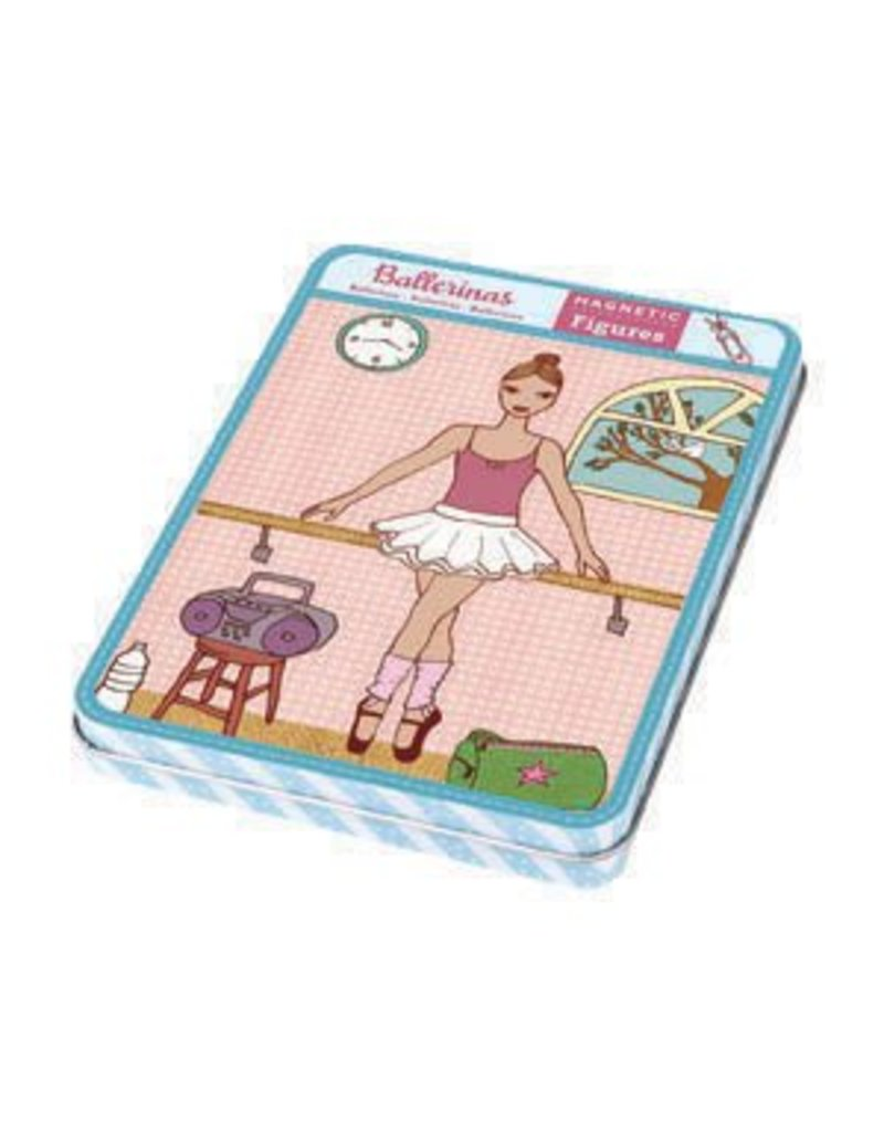 Ballerina Doll Magnet Set