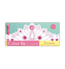 Princess Color-in Crowns