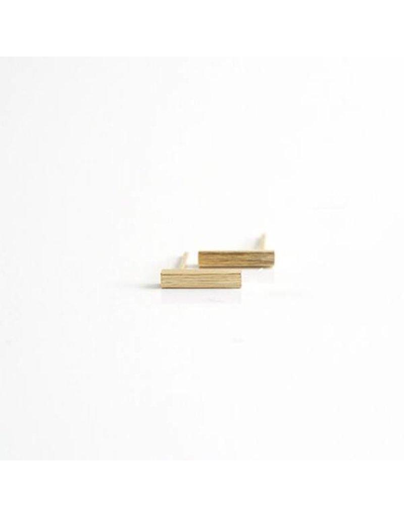 Bar Gold Earrings