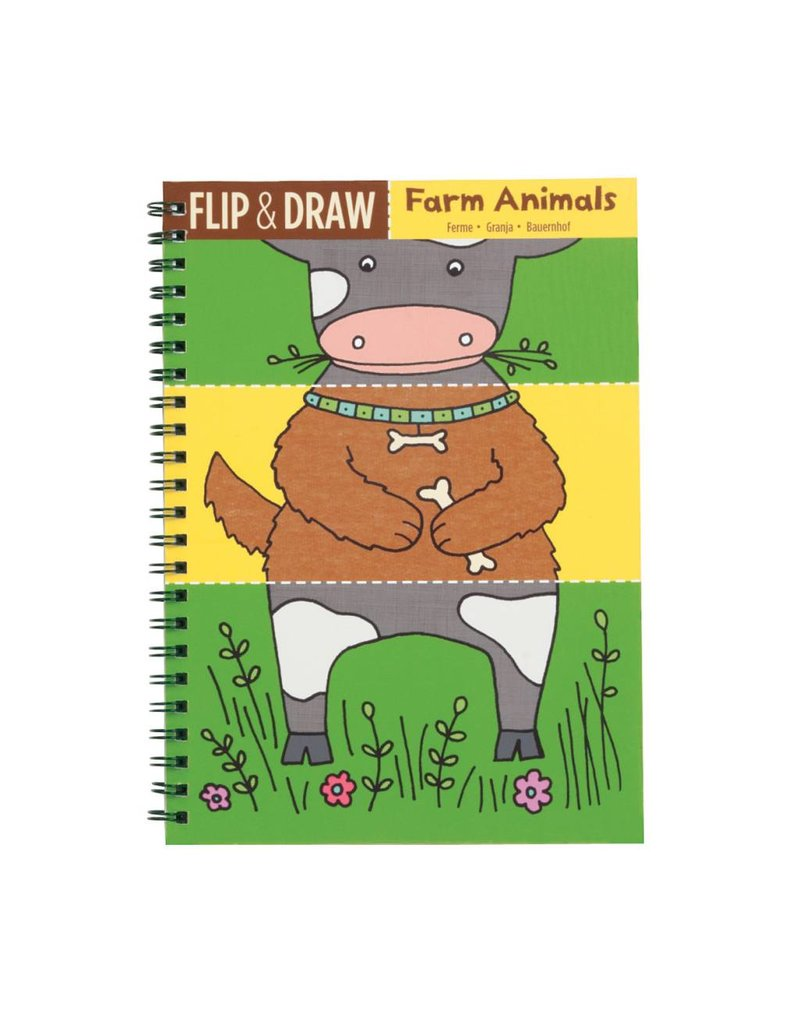 Flip and Draw Farm Animals