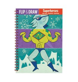 Flip and Draw Superheroes