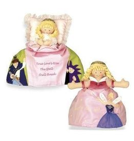Sleeping Beauty Topsy Turvy Doll