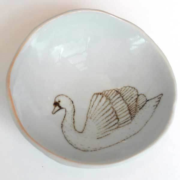 Swan Jewelry  Dish