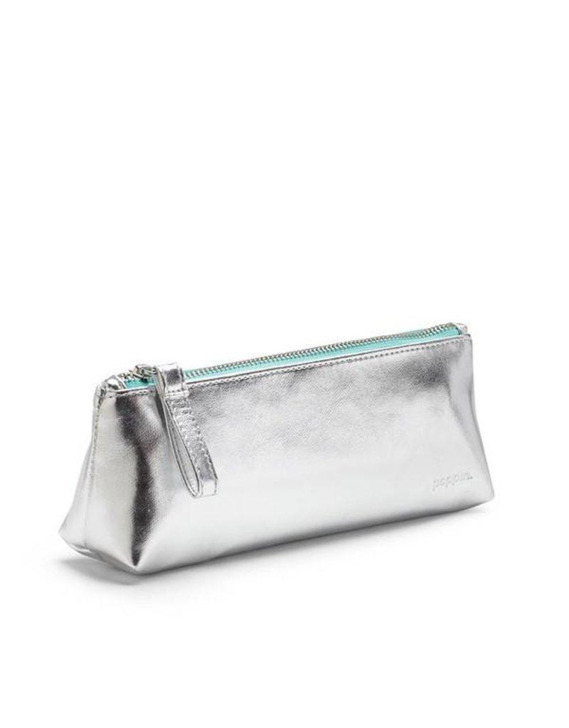 Pencil Pouch: Silver