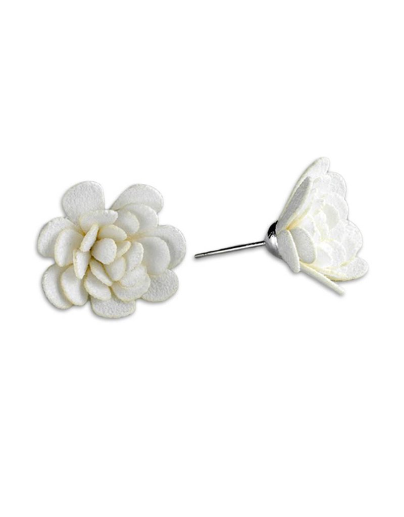 Flower Earrings: Medium