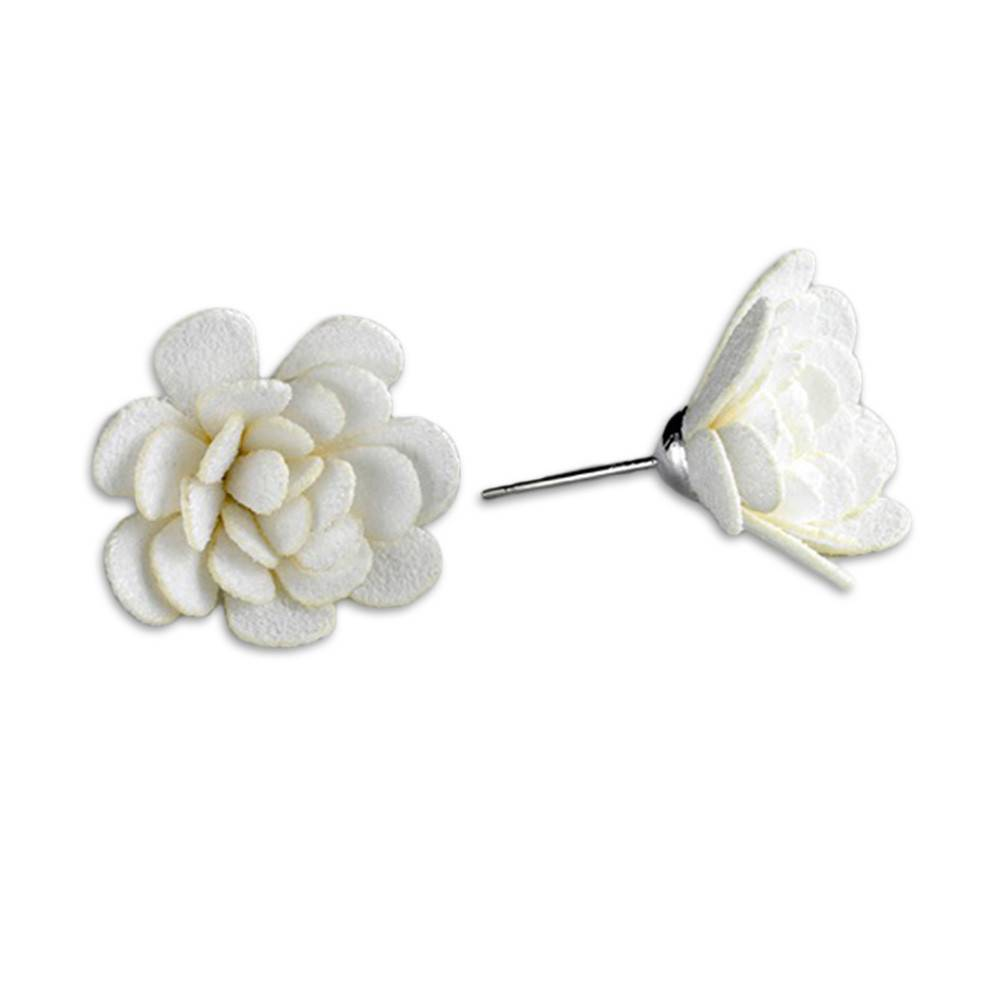Flower Earrings: Medium