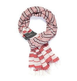 Scarf: Beach Blanket Red